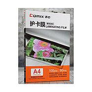 Плёнка для ламинирования COMIX M4080 А4, 80мкм, 100шт., фото 3
