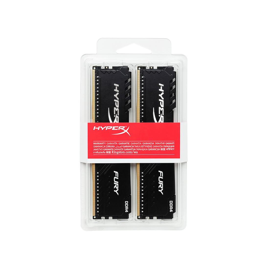 Комплект модулей памяти Kingston HyperX Fury HX434C16FB3K2/16 DDR4 16G (2x8G) 3466MHz