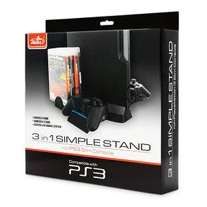 Зарядное устройство-подставка для PS3 Slim PEGA PG-SP3003