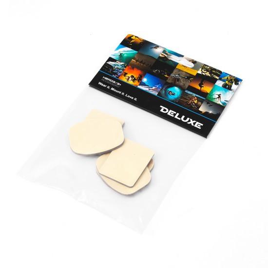 Набор 3М стикеров для плоских и изогнутых платформ для GoPro Hero 4/3+/3/2 Deluxe DLGP-14