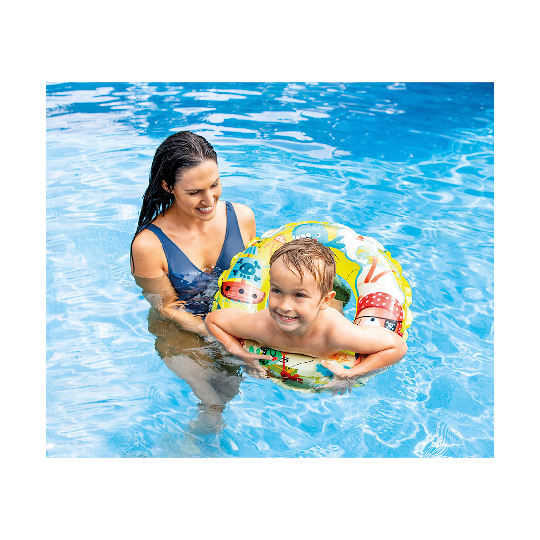 Надувной круг для плавания Intex 59242NP