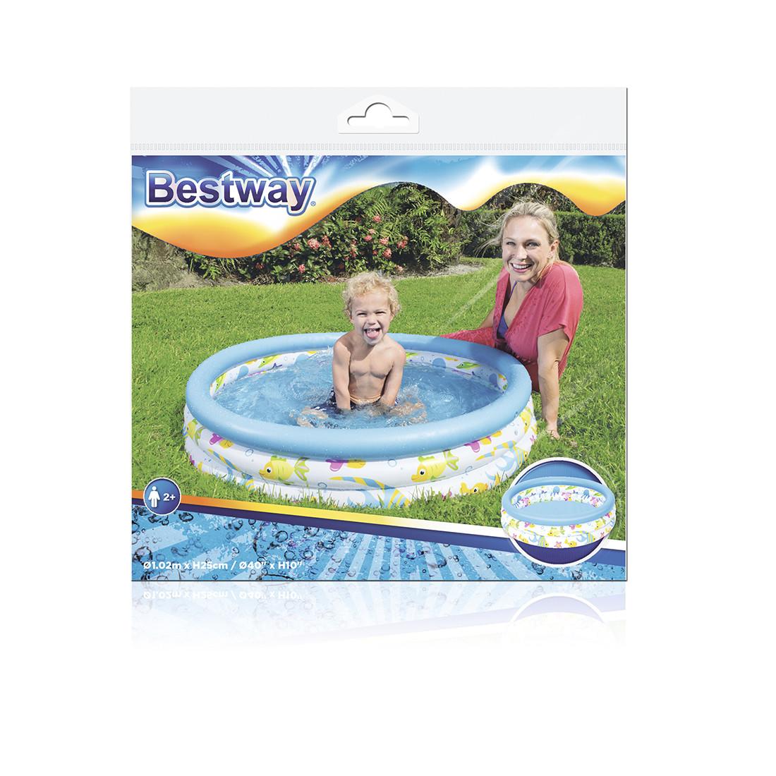 Надувной бассейн Bestway 51008