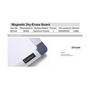 Доска магнитно-маркерная Comix BO3045