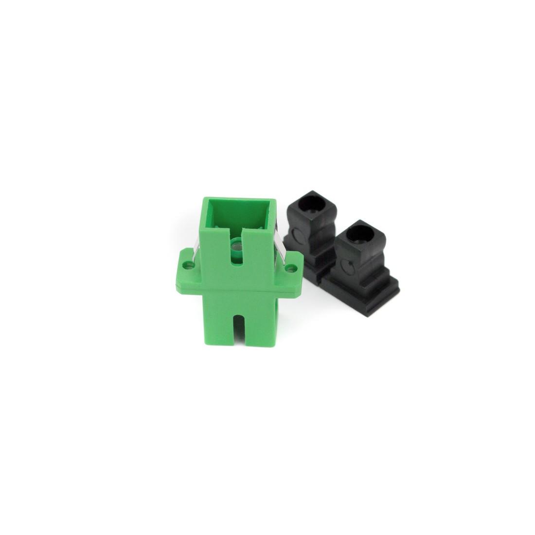 Адаптер А-Оптик АО-7002 SC/APC-SC/APC SM Simplex