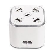 Универсальное USB зарядное устройство Huntkey SCA507 Белый, фото 2