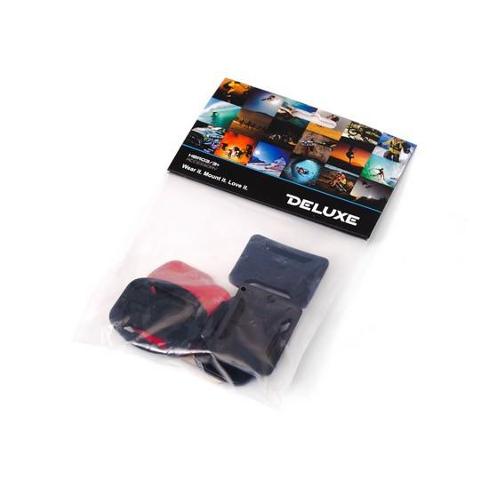 2 плоские и 2 изогнутые клеящиеся платформы для GoPro Hero 4/3+/3/2 Deluxe DLGP-10