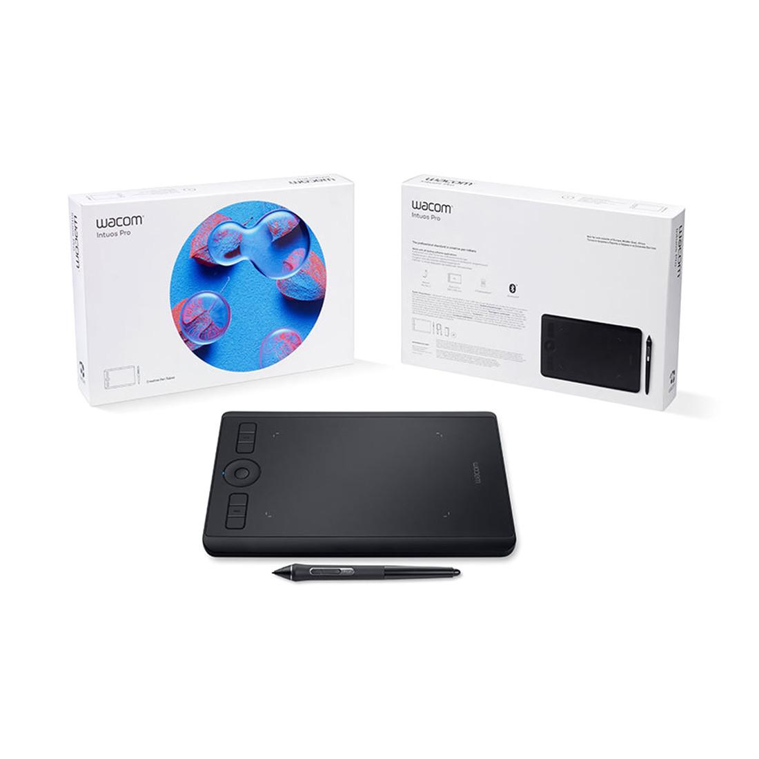 Графический планшет Wacom Intuos Pro Small EN/RU (PTH-460K0B) Чёрный