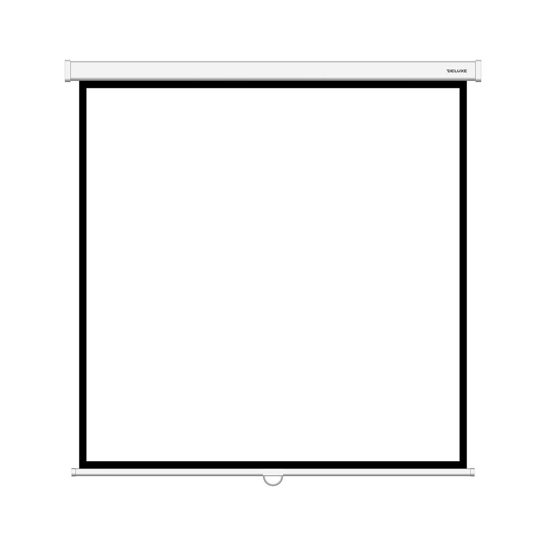 """Экран Deluxe DLS-M213xW (84""""х84""""), Ø - 118"""", Раб. поверхность 205х205 см., 1:1"""