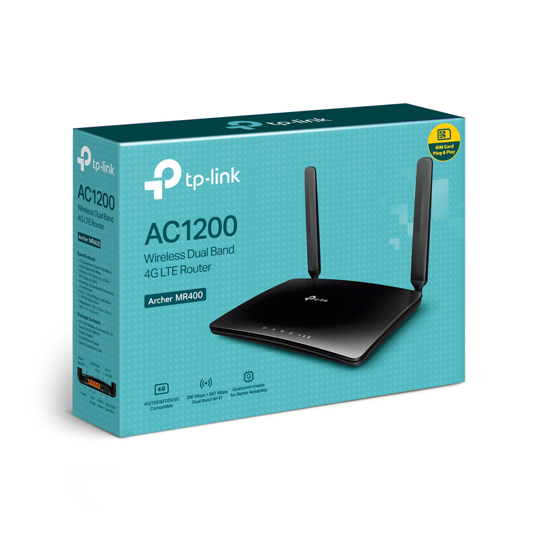 Маршрутизатор TP-Link Archer MR400