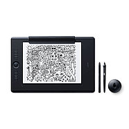 Графический планшет Wacom Intuos Pro Large Paper Edition R/N (PTH-860P-N) Чёрный, фото 3