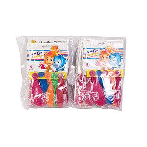Воздушные шарики 1111-0854 (1111-0411) (5 шт. в пакете)