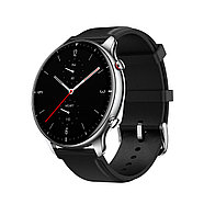 Смарт часы Amazfit GTR2 A1952 Classic edition (Stainless steel) Obsidian black, фото 3