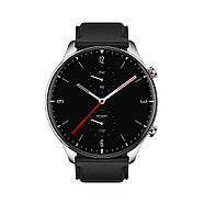 Смарт часы Amazfit GTR2 A1952 Classic edition (Stainless steel) Obsidian black, фото 2