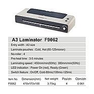 Ламинатор COMIX F9062 А3, 4 вала, 80-125 мкм, 38-45 см/мин., фото 2