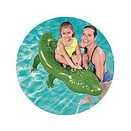 Надувная игрушка Bestway 41010 в форме крокодила для плавания, фото 2