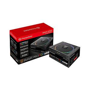 Блок питания Thermaltake Smart Pro RGB 650W (Bronze)