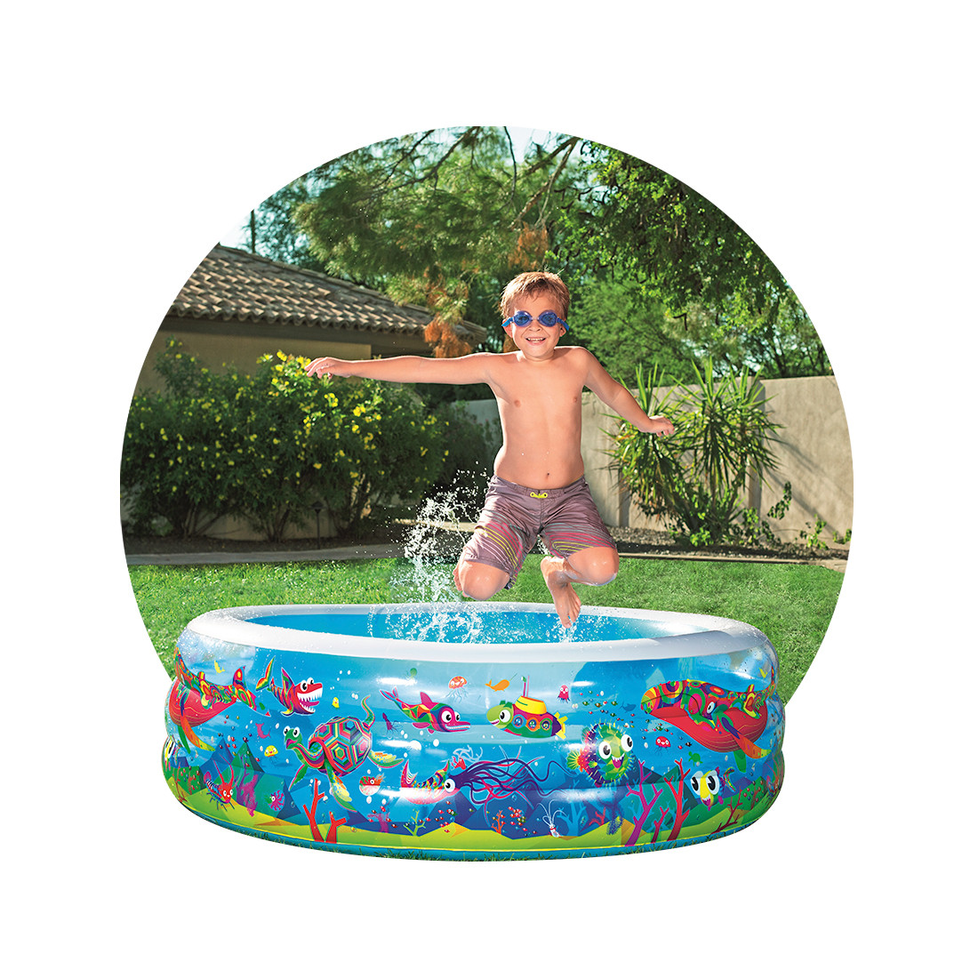 Надувной бассейн Bestway 51121