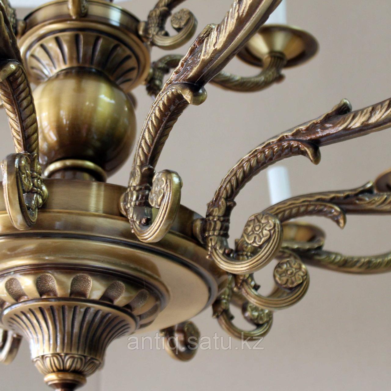 Парные 18ти рожковые люстры. Италия. Вторая половина 20го века. - фото 7