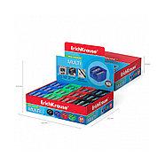 Пластиковая точилка ErichKrause® Multi на два отверстия, цвет корпуса ассорти (в коробке по 24 шт.), фото 3