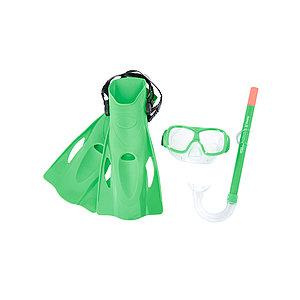 Набор для плавания Bestway 25019 в упаковке: маска, трубка, ласты