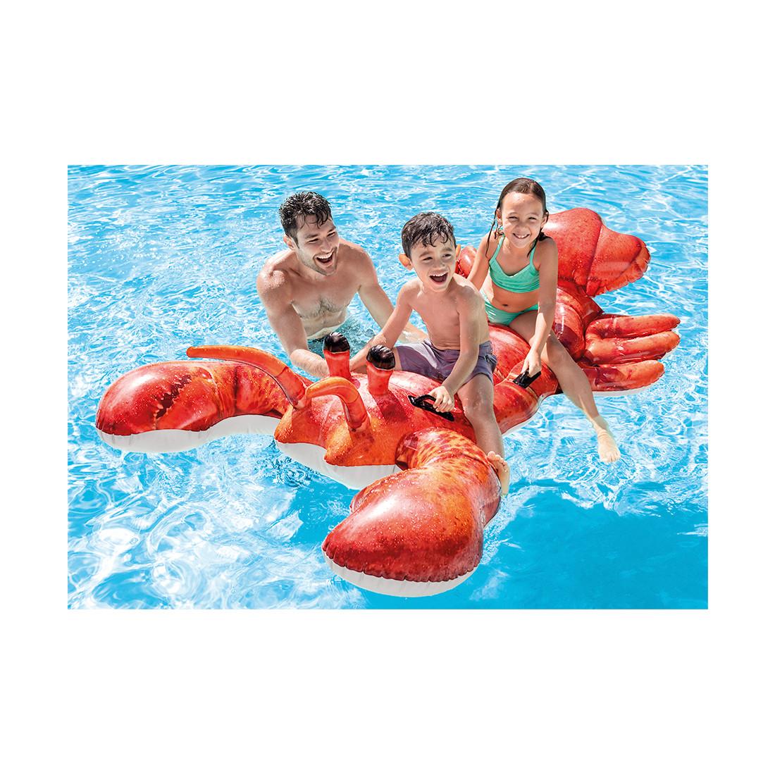 Надувная игрушка Intex 57533NP в виде лобстера для плавания