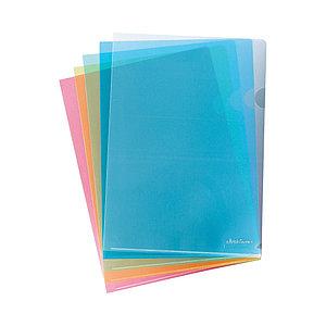 Папка-уголок пластиковая  ErichKrause®  Clear Standard, A4, красный (в пакете по 10 шт.)