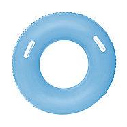 Надувной круг для плавания Bestway 36084 (синий, желтый, розовый), фото 3