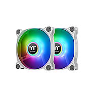 Кулер для компьютерного корпуса Thermaltake Pure Duo 14 ARGB Sync Radiator Fan (2-Fan Pack) White, фото 3