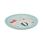 Тарелка праздничная 1502-4244 (6 шт. в пакете), фото 3