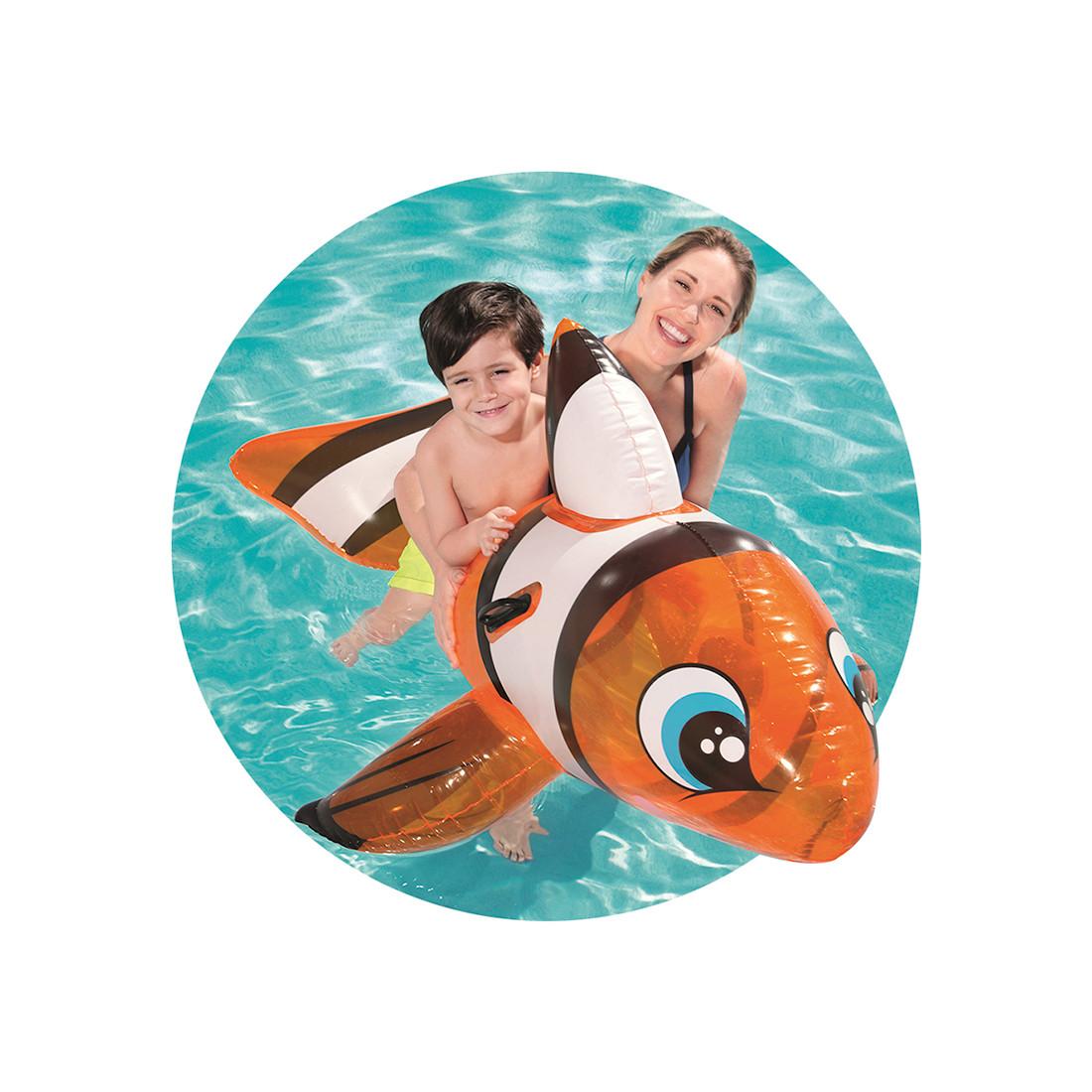 Надувная игрушка Bestway 41088 в форме рыбы для плавания