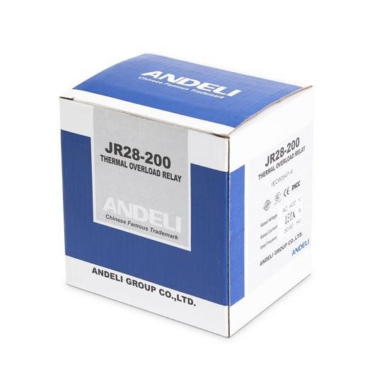 Реле тепловое ANDELI JR-200 F5371 (132-220A)