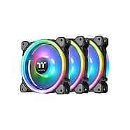 Кулер для компьютерного корпуса Thermaltake Riing Trio 12 RGB TT Premium Edition (3-Fan Pack), фото 2