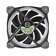 Кулер для компьютерного корпуса Thermaltake Riing Plus 12 RGB TT Premium Edition (3-Fan Pack), фото 2