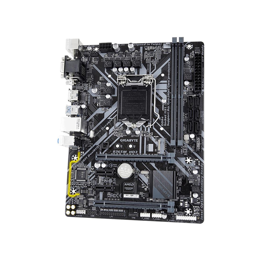 Материнская плата Gigabyte B365M HD3