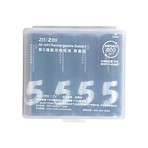 Аккумуляторные батарейки Xiaomi ZMI AA512 ZI5 AA (4шт в упак.)