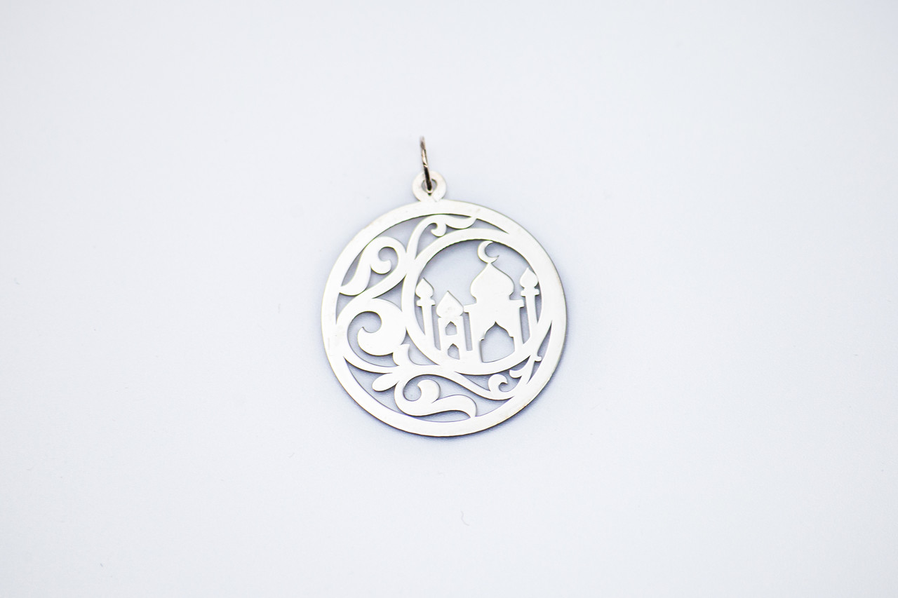 Подвеска серебро Мечеть
