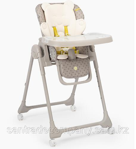 Стульчик для кормления Happy Baby William PRO Grey