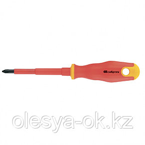Отвертка диэлектрическая PH0 х 75 мм, до 1000 В. СИБРТЕХ, фото 2