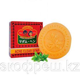 Мыло для проблемной кожи лица Madame Heng Acne clear soap 150 гр