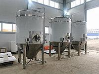Цилиндро-конический танк для пивзавода ЦКТ 6000 литров