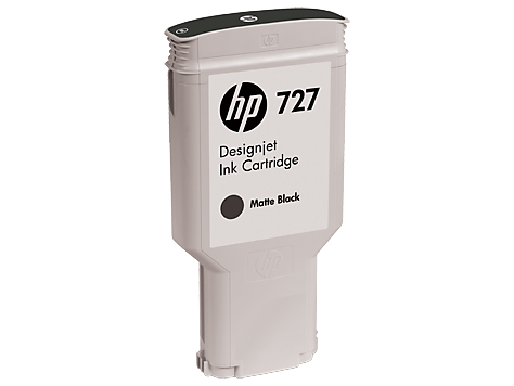 HP C1Q12A Картридж матово-черный HP 727 для Designjet T1500/ T920 / T2500 300 мл
