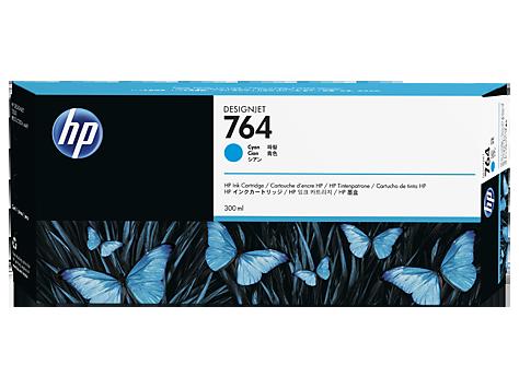 HP C1Q13A Картридж голубой HP 764 для Designjet T3500