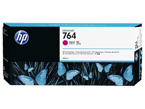 HP C1Q15A Картридж желтый HP 764 для Designjet T3500