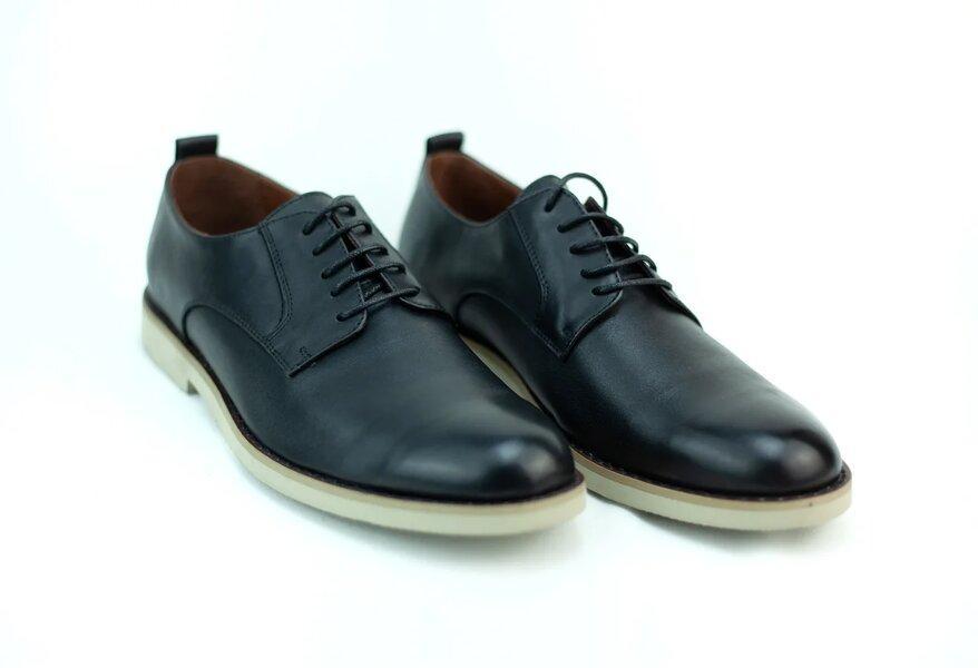 Мужские кожаные туфли - фото 1