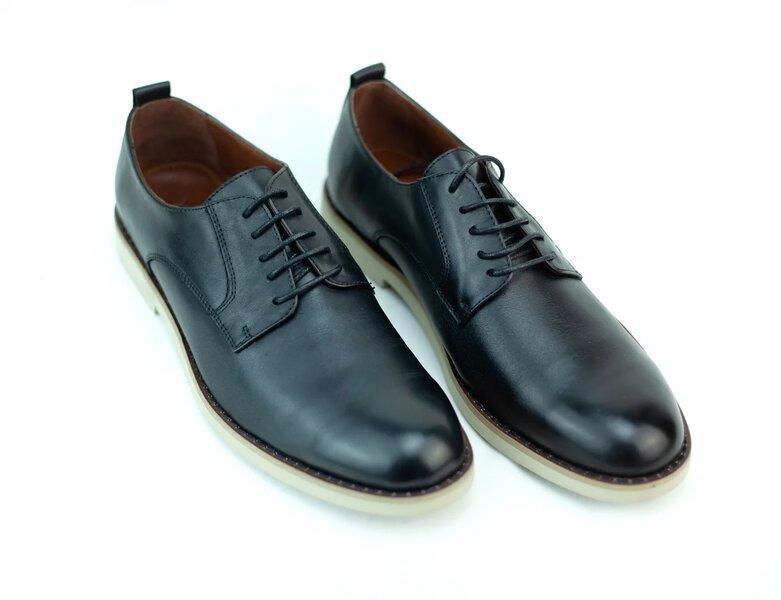 Мужские кожаные туфли - фото 2