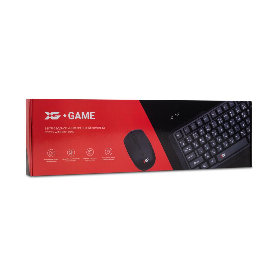 Комплект Клавиатура + Мышь X-Game XD-7700GB