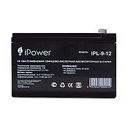 Аккумуляторная батарея IPower IPL-9-12 12В 9 Ач, фото 2