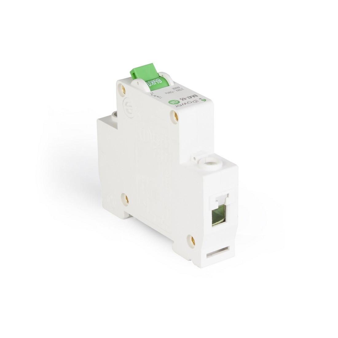 Автоматический выключатель реечный iPower ВА47-63 1Р 40А