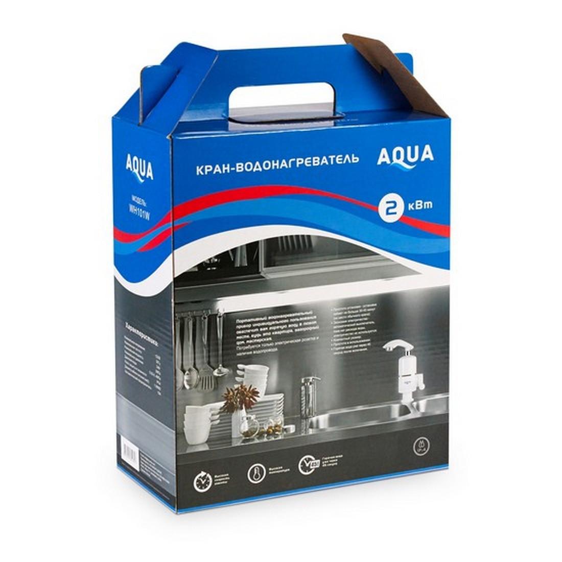 Кран водонагреватель проточной воды AQUA WH101W