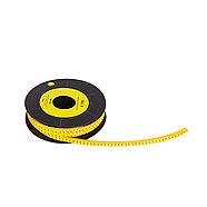 """Маркер кабельный Deluxe МК-0 (0,75-3,0 мм) символ """"A"""" (1000 штук в упаковке), фото 2"""